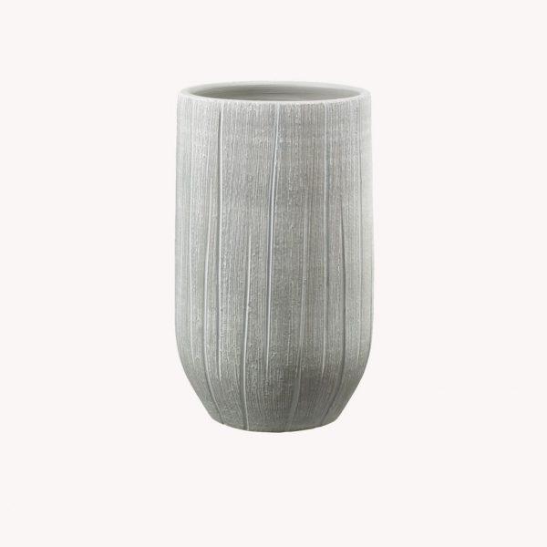 produkte_indoor_uebertopf_ronda_vase_greige_strukturiert-2384
